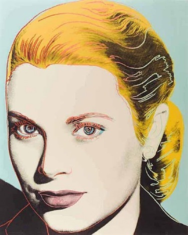 grace kelly fs ii.305 by andy warhol