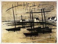 bateaux de pêche by bernard buffet
