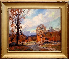 fall colors by emile albert gruppe