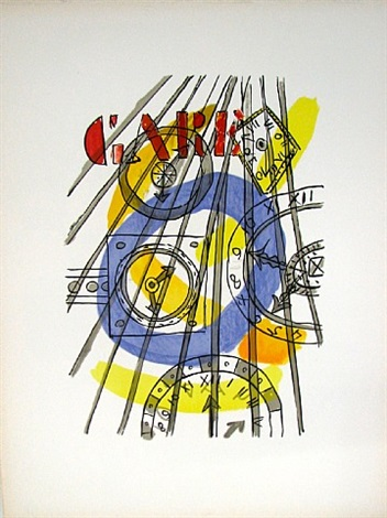 "from the series ""la ville"" by fernand léger"