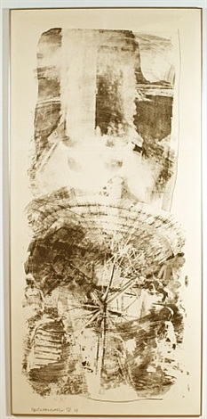 waves (f. 73) by robert rauschenberg