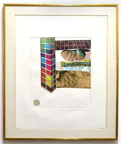 horsefeathers thirteen iv by robert rauschenberg