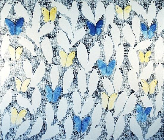 butterflies and guardians by hunt slonem