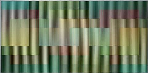 physichromie 1740 by carlos cruz-diez