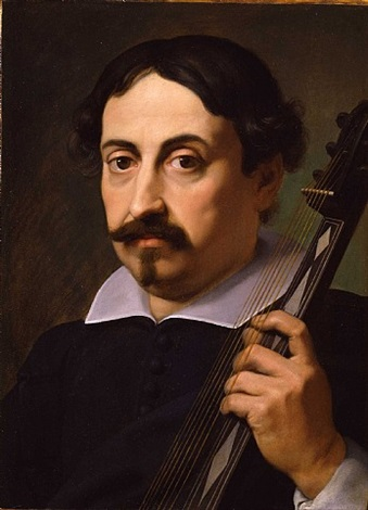 portrait of a musician by daniele crespi