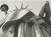 statue of liberty, ny by aldo sessa
