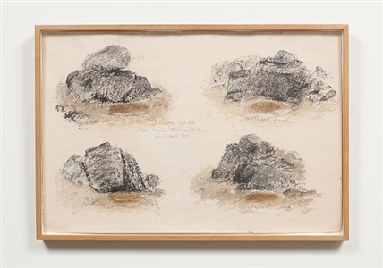 dumb rocks by david nash