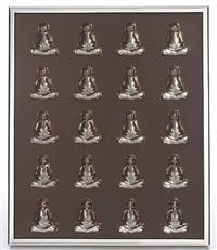 buddha (smoked) by mauro perucchetti