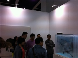 installation view art basel hong kong 2013 by xia xiaowan