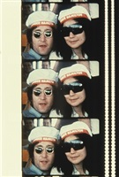 john & yoko on a cruise boat up the hudson river, july 7, 1971 by jonas mekas