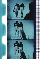 john & yoko during the filming of legs, nov. 9, 1969 by jonas mekas