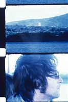 john lennon on a boat on the hudson, ny, 1971 by jonas mekas