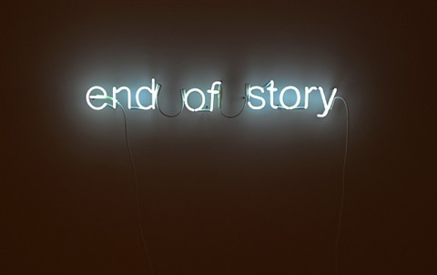 end of story by tim etchells