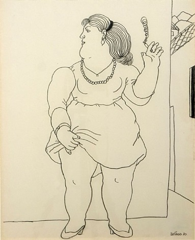 little whore by fernando botero
