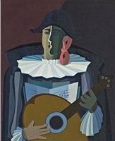 el morocho maula (estudio)/the swarthy rogue by emilio pettoruti