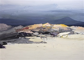 early april morning, blanahard bay by chris bushe