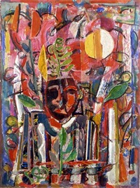 the jester by david driskell