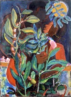 temptation in the garden by david driskell