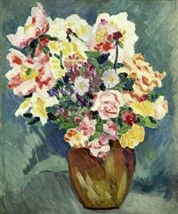 bouquet de fleurs by louis valtat