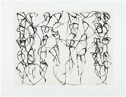 zen studies 1-6: plate 6 by brice marden