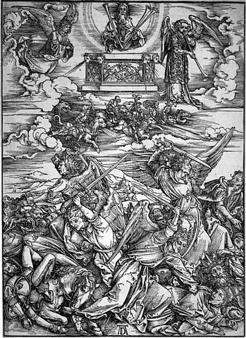 the four avenging angels by albrecht dürer