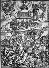 the four avenging angels by albrecht dürer