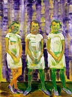 weiße dreiergruppe by lubomír typlt