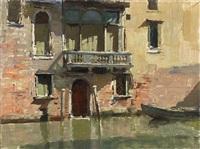 the little palazzo, venice by edward seago