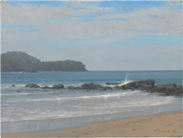 ixtapa islands, mid day by jacob collins
