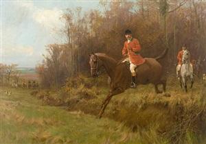 the fox hunt by thomas blinks