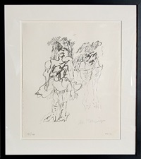 two women by willem de kooning
