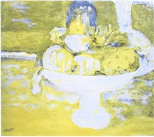 coupe de fruits by pierre bonnard
