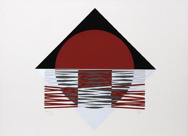 ovalo rojo by jesús rafael soto