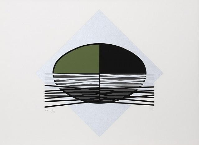 ovalo verde by jesús rafael soto