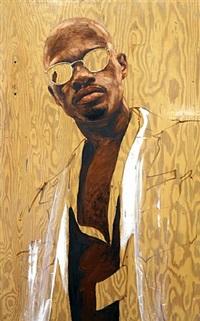 untitled (portrait 27) by attila richard lukacs