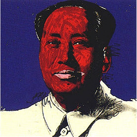 mao #98 by andy warhol