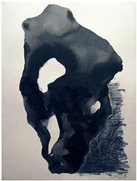 ink rock 1 by jian-jun zhang