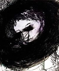 gesichter mit goya (serie) by arnulf rainer