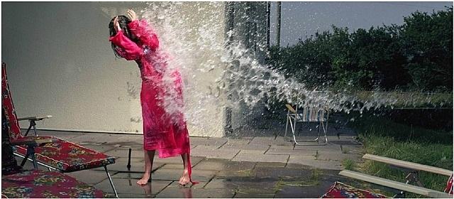 being splashed by julia fullerton-batten