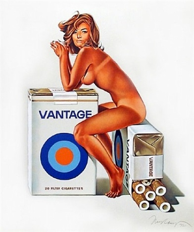 vantage / tabacco red by mel ramos