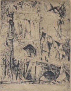the gate by lyonel feininger