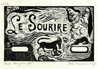 le sourire by paul gauguin