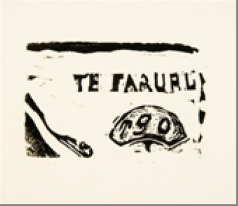 te faruru by paul gauguin