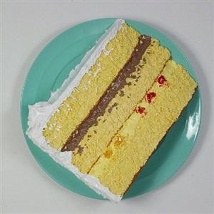italian fruit & cream cake by peter anton