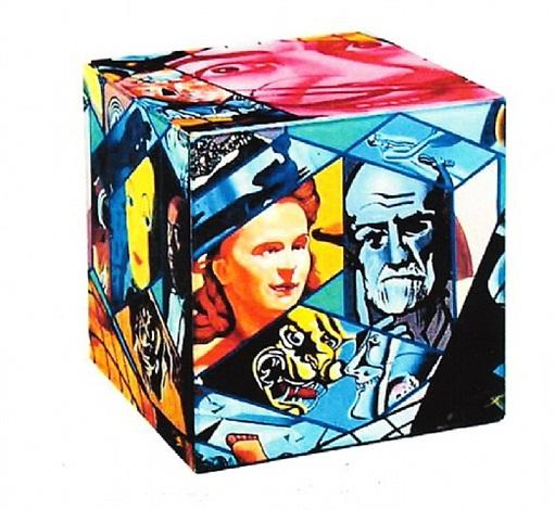 dali's cube by erró