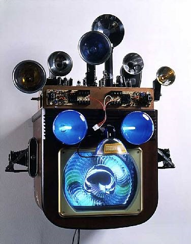 fractal flasher by nam june paik