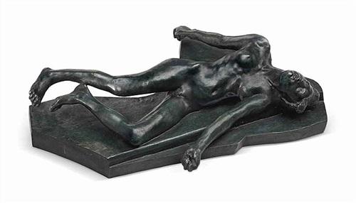 martyre petit modèle avec terrasse by auguste rodin