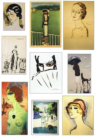 artwork by kees van dongen