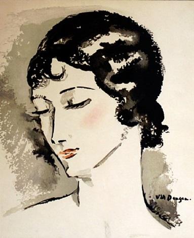 diner a biarritz au miramar, 5 septembre 1929 by kees van dongen