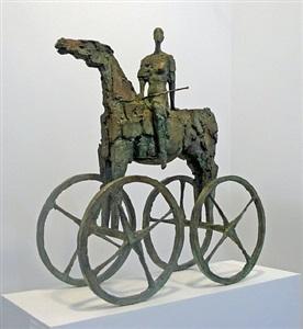 pferde - wagen by michael jastram